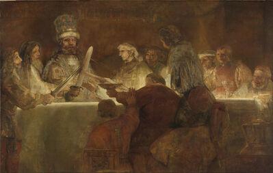 Rembrandt van Rijn, 'The Conspiracy of the Batavians under Claudius Civilis', 1661-1662