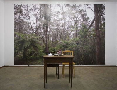 Marek Kucharski, 'There's nothing there, anyway (view of installation)', 2014
