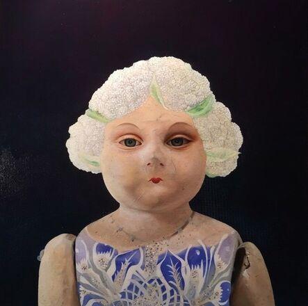 Hyemi Cho, 'Lupita cauliflower doll', 2016