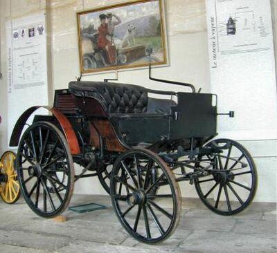 Panhard & Levassor, 'Phaëton automobile', 1891