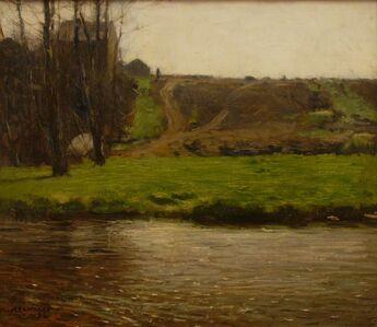 William Lathrop, 'Along the Delaware River', 1896