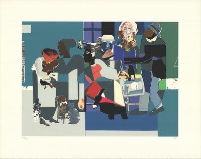 Romare Bearden, 'Family Dinner', 1993