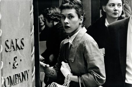 Frank Paulin, 'Surprised Woman at Saks, New York City', 1956