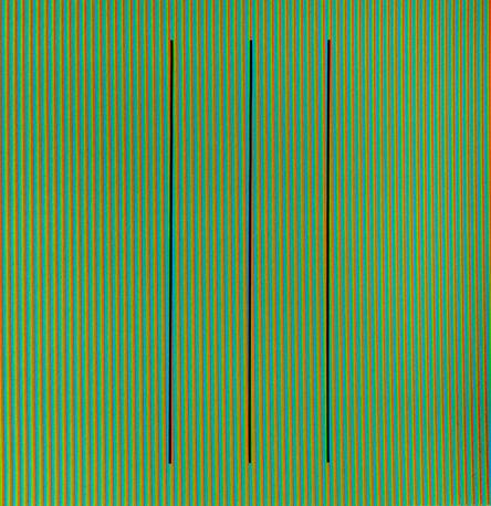 Carlos Cruz-Diez, 'Addition Chromatique RGB Serie Semana - Sábado', 2013