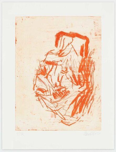 Georg Baselitz, 'Otto Dix', 2018