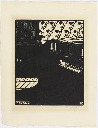 Félix Vallotton, 'Le piano', 1896