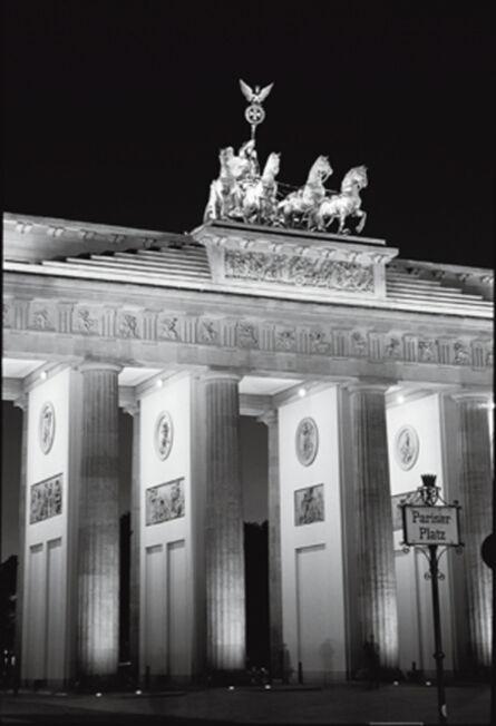 Jurgen Held, 'Brandenburg Gate, Berlin', 2000