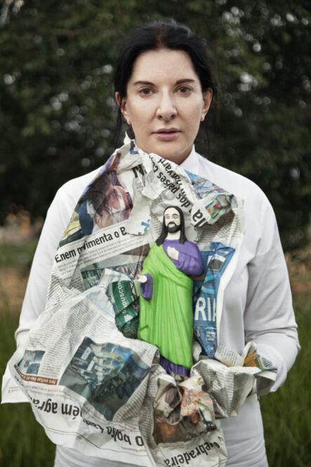 Marina Abramović, 'Portrait with Jesus', 2015