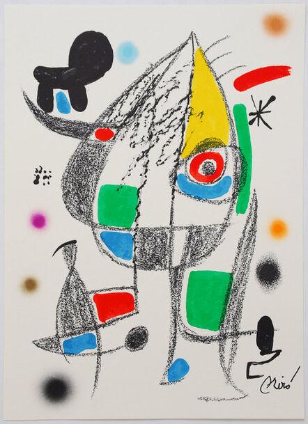 Joan Miró, 'Maravillas con variaciones acrósticas en el jardín de Miró - 20', 1975