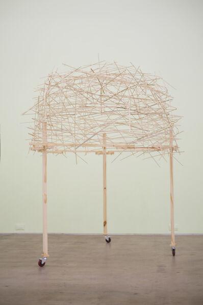 Rocío Moreno, 'Mínimo espacio de lo privado / Objeto instalado', 2015