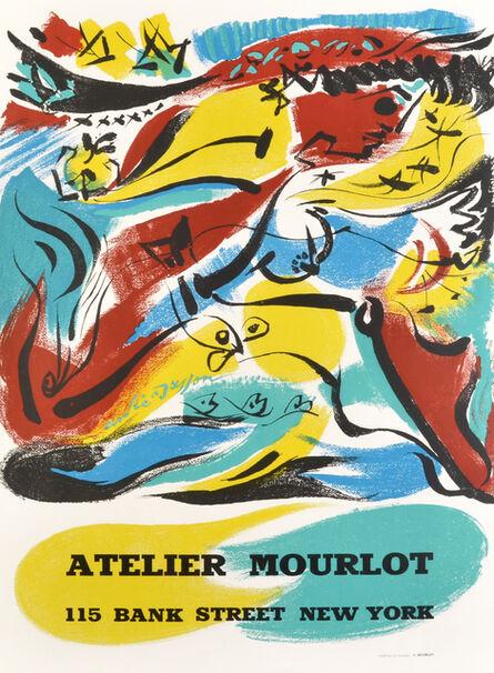 André Masson, 'Atelier Mourlot', 1967