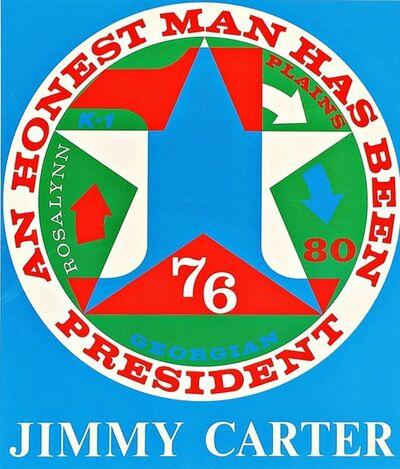 Robert Indiana, 'An Honest Man Has Been President (Sheehan, 112)', 1980