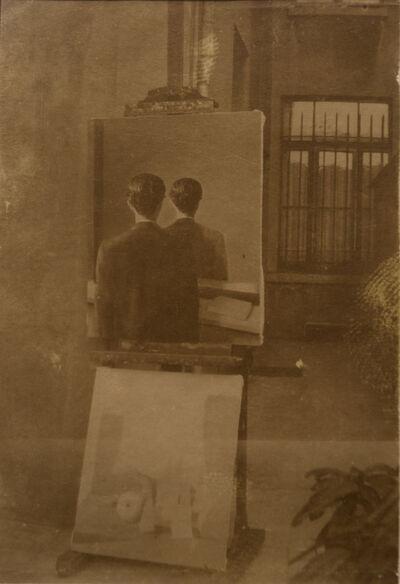 René Magritte, 'La reproduction interdite et le monde poétique', 1937