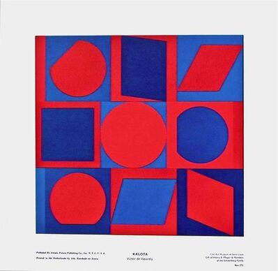 Victor Vasarely, 'KALOTA', ca. 1970