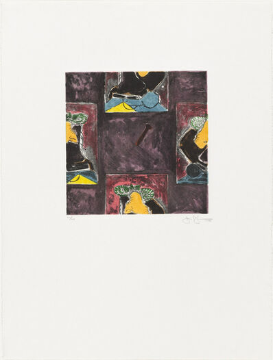 Jasper Johns, 'Untitled 1988', 1988