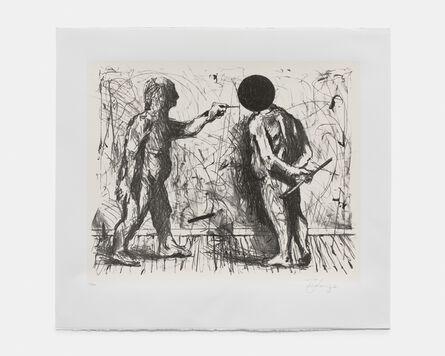 William Kentridge, 'Self portrait', 2021