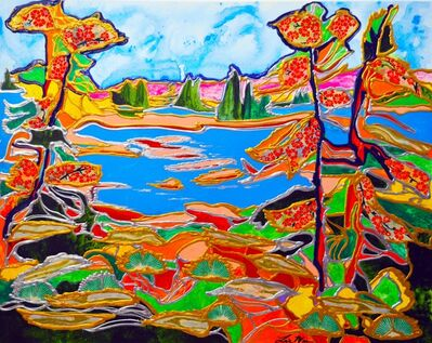 Lisa Mee, 'Pristine Lake Champlain in Vermont', 2020