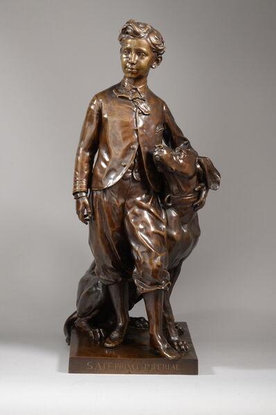 Jean-Baptiste Carpeaux, 'PRINCE IMPERIAL ET SON CHIEN NERO N°2 (1865)', ca. 1866-1869