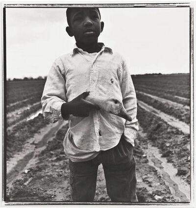 Keith Carter, 'Boy with Goose Head', 1991