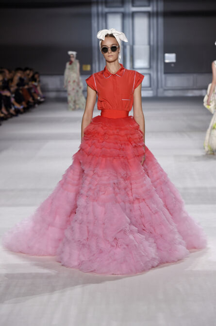 Giambattista Valli, 'Skirt and top, from Fall / Winter 2014–15 Couture collection', 2014