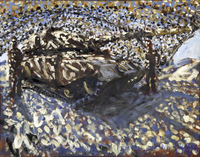 John Keane, 'Impressionist Tank', 1991