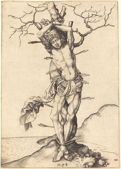 Martin Schongauer, 'Saint Sebastian', ca. 1480/1490