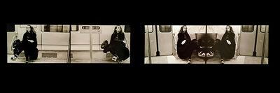 Anna Bella Geiger, ' Passagens. Série Situações limite.', 1975-2015