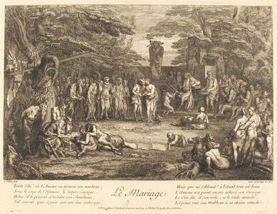 Claude Gillot, 'Le Mariage (Marriage)'