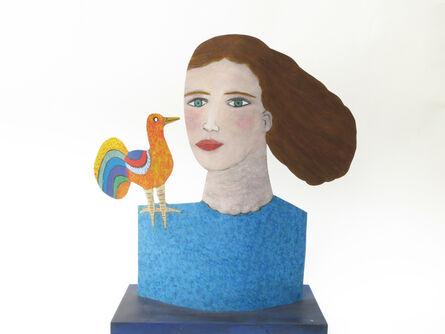 Jean Dessirier, 'Chanteuse à l'oiseau', 2016