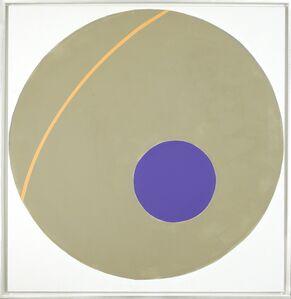 Alexander Liberman, 'Purple on Green', 1963