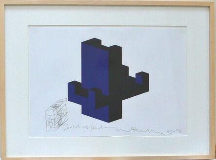 Matt Mullican, 'Untitled (World as a solid)', 1995-1996