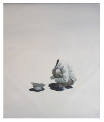 Nguyen Thai Tuan, 'Black Painting No. 46', 2008