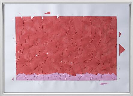 Rodrigo González Castellanos, 'Desgaste de la psicología del color, Amor', 2020