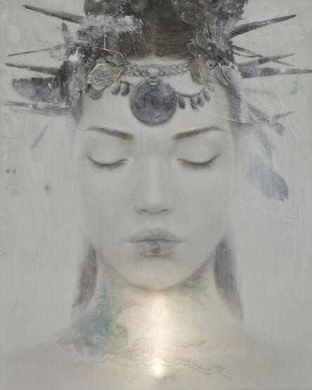 Rómulo Royo, 'Goddesses of Nibiru XI', 2014