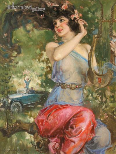 Howard Chandler Christy, 'Motor Magazine Cover', 1923
