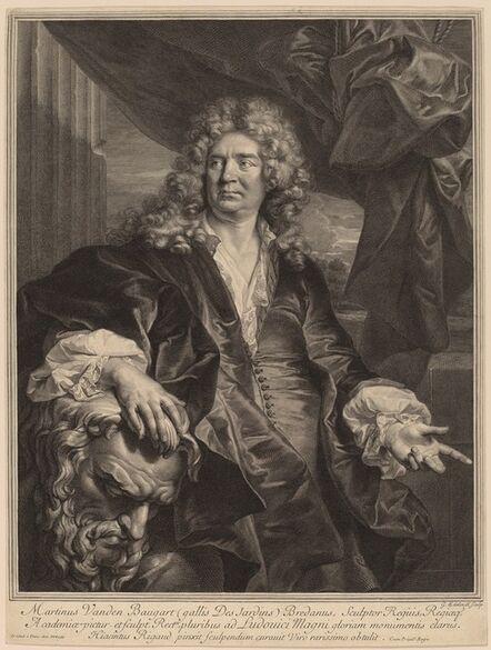 Gerard Edelinck after Hyacinthe Rigaud, 'Martin Desjardins'