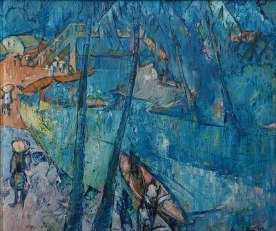 K. C. S. Paniker, 'Untitled (River Scene)', 1954