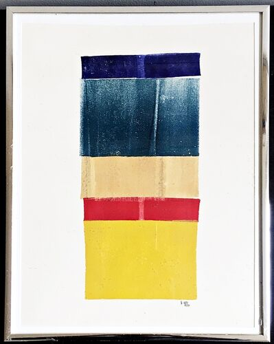 Lyman Kipp, 'Minimalist painting on paper.', 1970