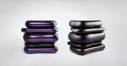 Mattia Bonetti, 'Side Tables 'Toast'', 2008