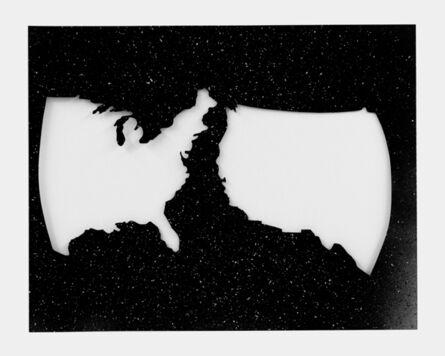 Jane Bauman, 'Split America', 1980