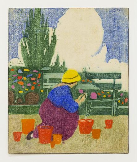 Ethel Mars, 'Untitled (Gardener)', ca. 1913