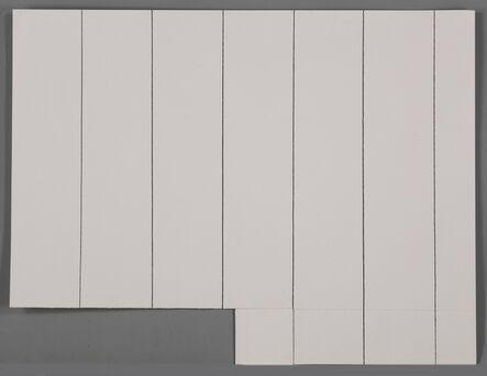 Kishio Suga, '差原化 Dividing Fields', 1980