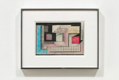 Suzanne Blank Redstone, 'Drawing for Portal 1', 1967