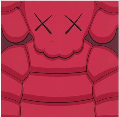 KAWS, 'What Party (RED)', 2020