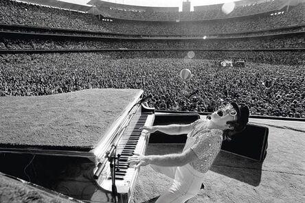 Terry O'Neill, 'Elton John Live at Dodger Stadium', ca. 1975