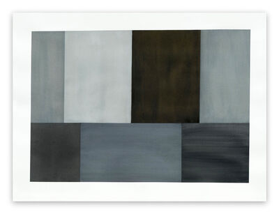 Tom McGlynn, 'Test Pattern 2 (Grey Study) (Abstract painting)', 2005
