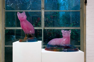 Dale Frank, 'Temple Cats', 2016