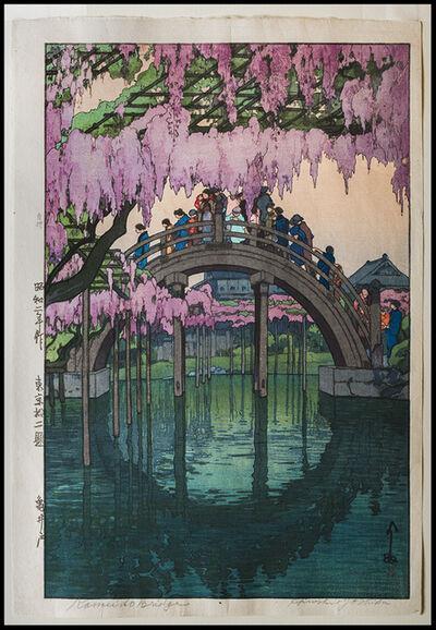 Yoshida Hiroshi, 'Kameido Bridge', 1927
