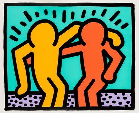 Keith Haring, 'Best Buddies (Littmann p.184-185)', 1990