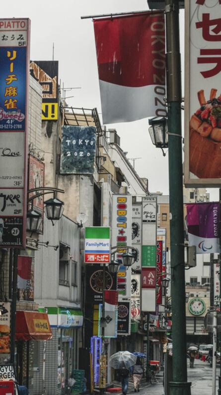 Chim↑Pom, 'May, 2020, Tokyo (Ningen Restaurant)  - Drawing a Blueprint - ', 2020